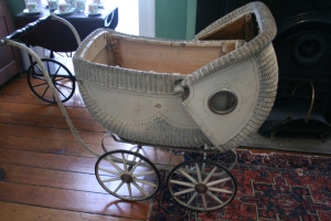 Mary Flannery O'Connor's baby buggy.